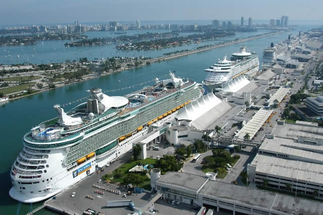 Cruise Port Miami Royal Caribbean Line